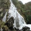 扁妙の滝の氷瀑1月16日