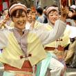 よさこい踊りが平和通りに!!
