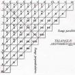 パスカルの数三角形