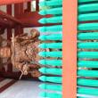 壇上伽藍の中門には四天王像が建つ。
