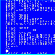 BlueMSXでスプライト 数字のスプライトを作る 右寄りで表示 前編
