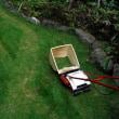 窮すれば通ず・・・かな?   - 小型電動芝刈り機修理 -