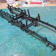 アメリカン4-4-0薪機関車 製作記その5