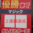 甲子園阪神対広島 2-3 2連覇