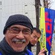 東京マラソンの応援に来ました。