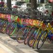 カラフル自転車