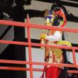 「浪速歳時記」「万部おねり」は正式には「二十五菩薩聖衆来迎(しょうじゅうらいごう)阿弥陀経万部法要」と呼ばれる大阪平野にある融通念仏宗総本山