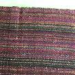手織り布でバッグ