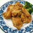 ノンフライヤーで鶏のから揚げ♪ で夕ご飯。