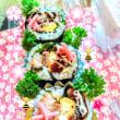 [小樽]娘の今日のお弁当🍱·肉巻き弁当です。