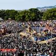 新居浜祭り(上部地区山根グラウンド統一寄せ)