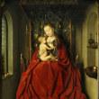 ミサの最中に授乳する聖母?