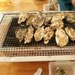 ラストの牡蠣小屋