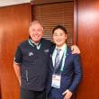 ジェラルド  ウェルトヘインアルゼンチンオリンピック委員会の会長と懇談してまいりました。茨城県境町