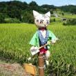 秋の明日香路へ  その① 稲渕の棚田(実のり・ヒガンバナ・案山子)