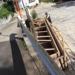 急勾配の出入り口を拡張する 茨城 守谷