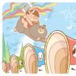 鯉のぼりジャンプ!!