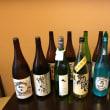 日本酒色々入荷しました。夜はお席に余裕がございます。