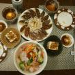 焦げた餃子の夕食とファミリーマートのザーサイ!美味しい♪