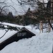 雪下ろしをしました