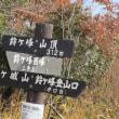 ⑥ 鈴ケ峰山 東・西峰登山 : 東峰登頂  UP2日目