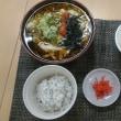明太子卵とじ蕎麦