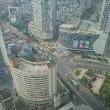 今日は、41階!!眺め最高ですが、チョット空気悪い気味??