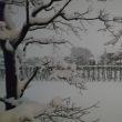 18・1・22東京豪雪の一夜明けて