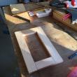 収納ボックスの追加製作 その2 枠組み材の切り出し