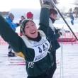 迫る石狩スキーマラソン