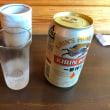 缶ビール(350ml)1缶700円。
