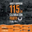 HARLEY-DAVIDSON 115TH CELEBRATION PARTY!