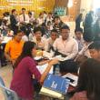 日本支援。ミャンマーのタンリン工科大で初の就職フェア。