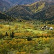 奥只見、山峡の秋