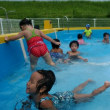 プール遊び💦✨