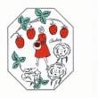 琉球大田焼窯元☆美味しい頂き物 イチゴ味の焼き菓子