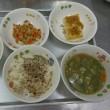 新献立の豆腐田楽を子どもたちは良く食べたそうです!良かったですね🎵