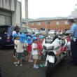 秋の全国交通安全運動 出発式に参加しました。(5歳児)