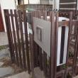 鉄製フェンスの塗り替え