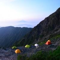 やはり疲れた、第二の高峰・北岳(2)