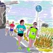 日曜日、佐倉朝日健康マラソンがある