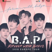 """B.A.P """"Forever with BABYz"""" Europe Tour 2018"""