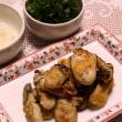 ミートソーススパゲッティー&牡蠣のソテー
