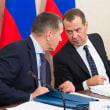 メドヴェージェフがコルサコフで極東漁業の代表者と協議
