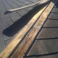 台風災害に伴う屋根修繕工事