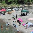 外野席で遠望・鏡川の自然環境・手作りマーケット・旅の思い出 ベトナム