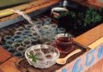 大垣の夏の風物詩『水まんじゅう』の販売が始まりました。