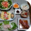 金目鯛とサラダ