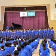 合唱大会 学年歌い合わせ練習
