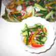 自家野菜でピクルスを作りました